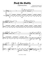 Deck the Halls (Euphonium or Cello Duet)