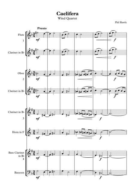 Caelifera - Wind Quartet