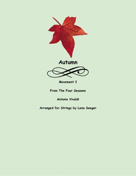 The Four Seasons, Autumn, I