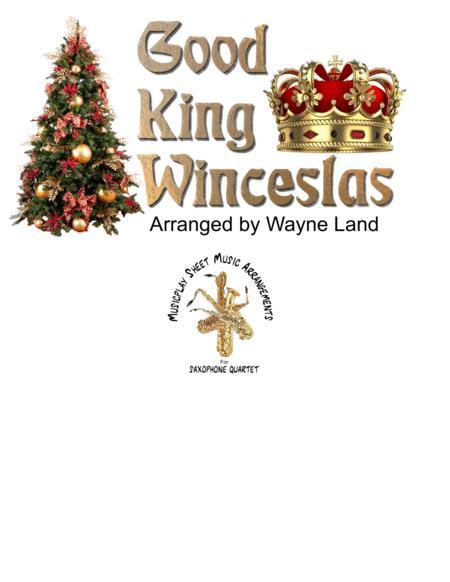 Good King Wenceslas (Variations for Jazz Saxophone Quartet)