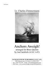 Anchors Aweigh! (Brass Quintet)
