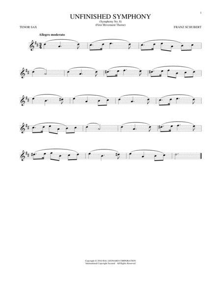 The Unfinished Symphony (Theme)