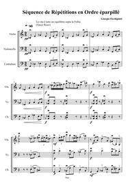 Sequence de Répétitions en Ordre éparpillé