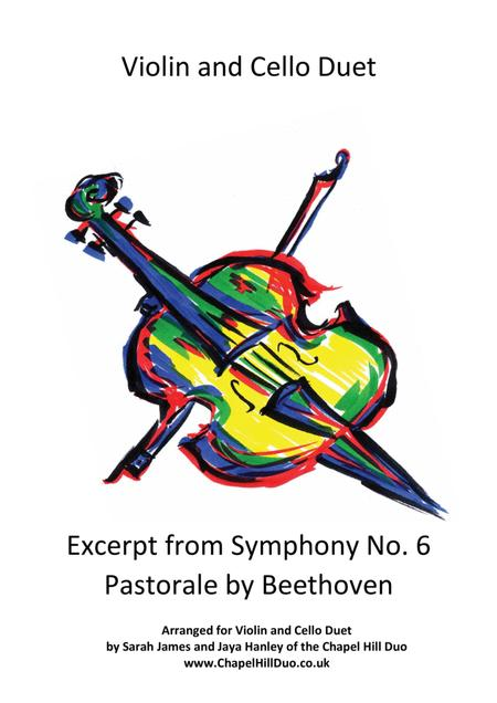 Excerpt from Beethoven's Pastoral Symphony No. 6 arranegd for Violin & Cello Duet by the Chapel Hill Duo