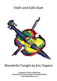Wonderful Tonight - Violin & Cello Duet arrangement by the Chapel Hill Duo