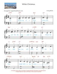 White Christmas (EARLY INTERMEDIATE PIANO)