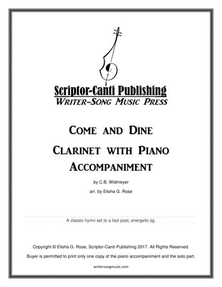 Come and Dine for Clarinet