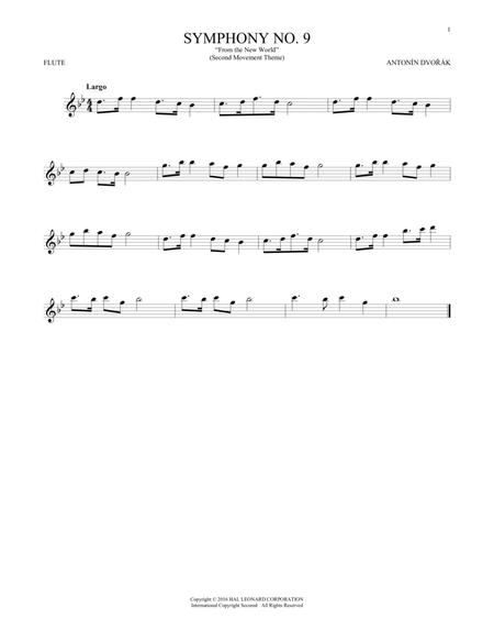 Largo From Symphony No. 9 (