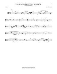 Piano Concerto In A Minor, Op. 16