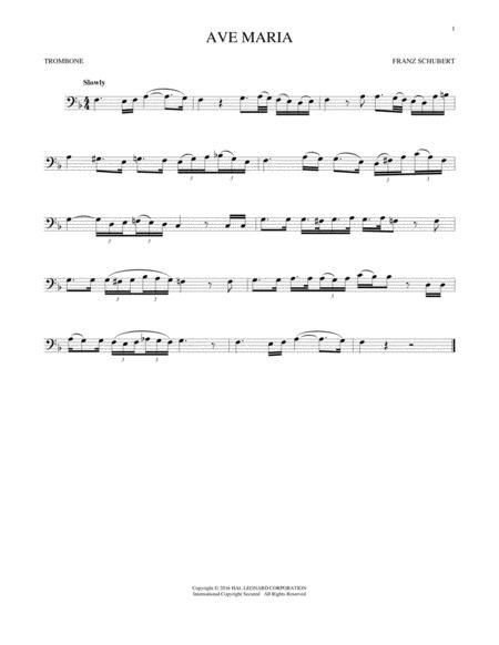 Ave Maria, Op. 52, No. 6