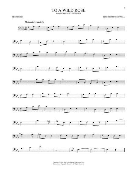 To A Wild Rose, Op. 51, No. 1