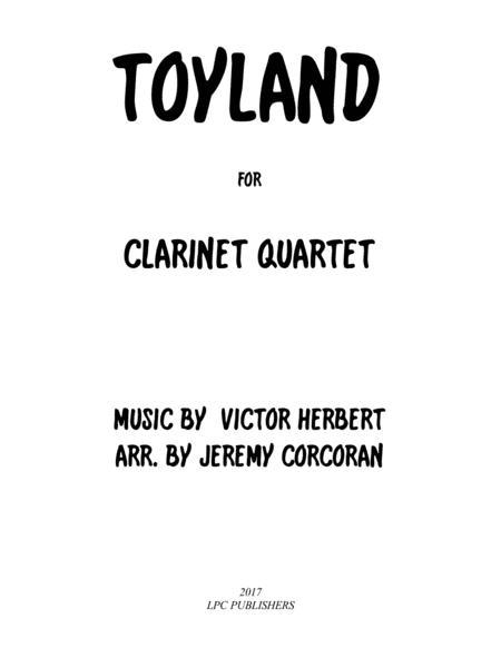 Toyland for Clarinet Quartet