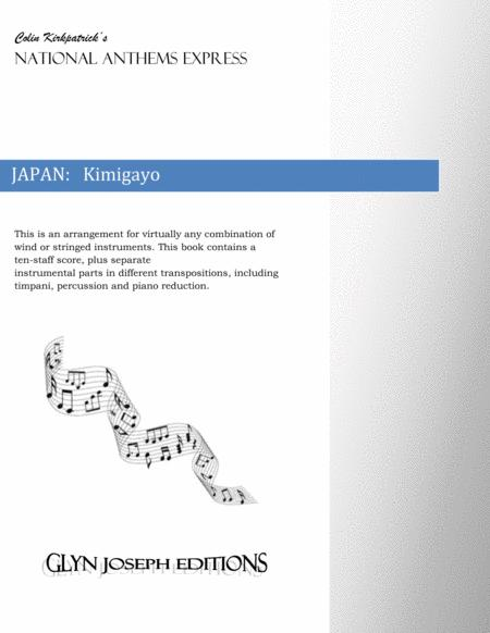 Japan National Anthem:  Kimigayo (The Emperor's Reign)