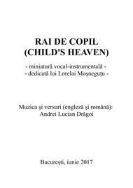 Rai de copil (Child's heaven)