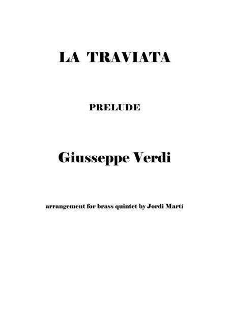 La Traviata (prelude Act I)
