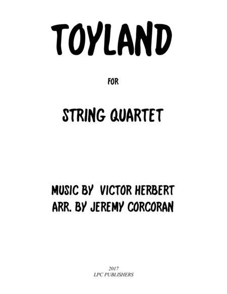 Toyland for String Quartet