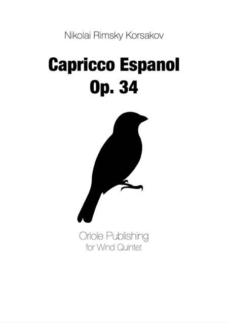Rimsky Korsakov - Capprico Espanol for Wind Quintet