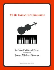 by bing crosby ill be home for christmas solo violin piano - Bing Crosby I Ll Be Home For Christmas