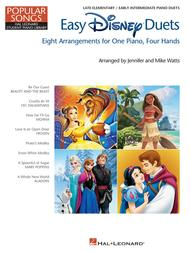Easy Disney Duets - Popular Songs Series