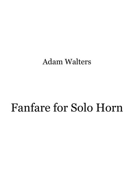 Fanfare for Solo Horn