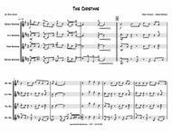 This Christmas - SAX QUARTET - sop, alto, tenor, bari