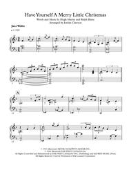 Have Yourself A Merry Little Christmas - Jazz Waltz