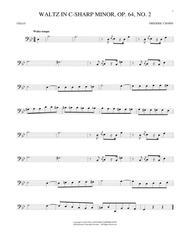 Waltz In C-Sharp Minor, Op. 64, No. 2