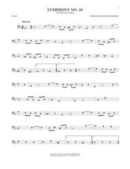 Symphony No. 40 In G Minor, Third Movement (