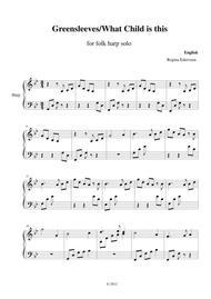 Greensleeves - harp solo