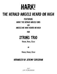Hark! The Herald Angels Heard on High for String Trio