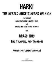 Hark! The Herald Angels Heard on High for Brass Trio