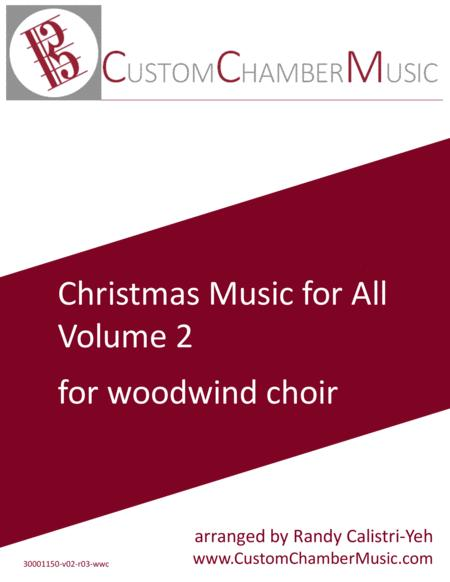 Christmas Carols for All, Volume 2 (for Woodwind Choir)