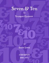 Seven & Ten for Trumpet Quintet by Eddie Lewis