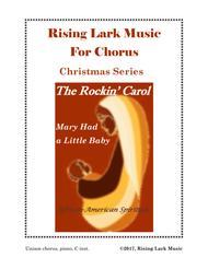 The Rockin' Carol (Unison with C instrument)
