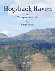 Hogsback Haven for Trumpet Quartet by Eddie Lewis