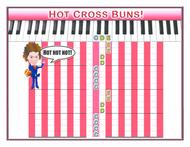 ExactPiano.com Presents: Hot Cross Buns! Stage 1