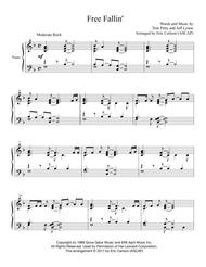 Free Fallin' Piano Solo arr. by Eric Carlson