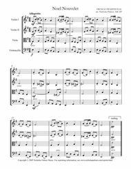 Christmas comes anew (Noel nouvelet) - easy string quartet