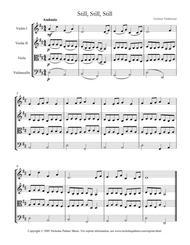 Still, still, still - easy string quartet