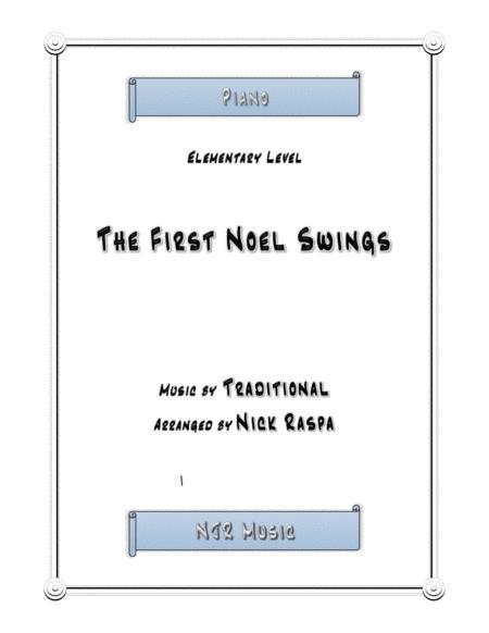 The First Noel Swings (elementary piano)