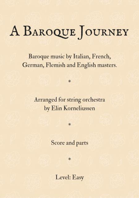 A Baroque Journey for String Orchestra