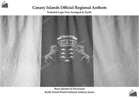 Canary Islands Official Regional Anthem for Brass Quintet & Percussion