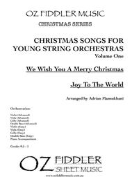 Christmas Songs for Young String Orchestras Volume One