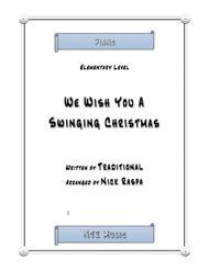 We Wish You A Swinging Christmas (elementary piano)