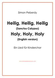 Sanctus Calypso for Kinderchor (Sanctus for children's choir) in German