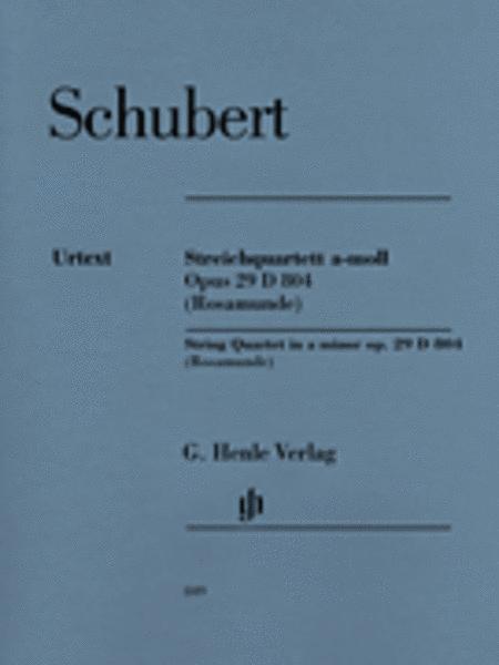 String Quartet in A Minor, Op. 29, D. 804 Rosamunde