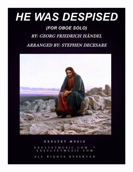 He Was Despised (for Oboe Solo and Piano)