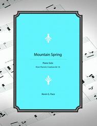 Mountain Spring - original piano solo
