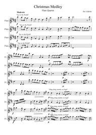 Christmas Medley for Flute Quartet