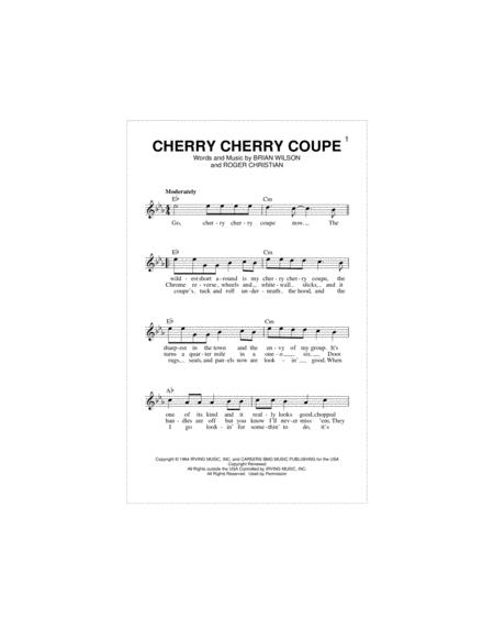 Cherry Cherry Coupe